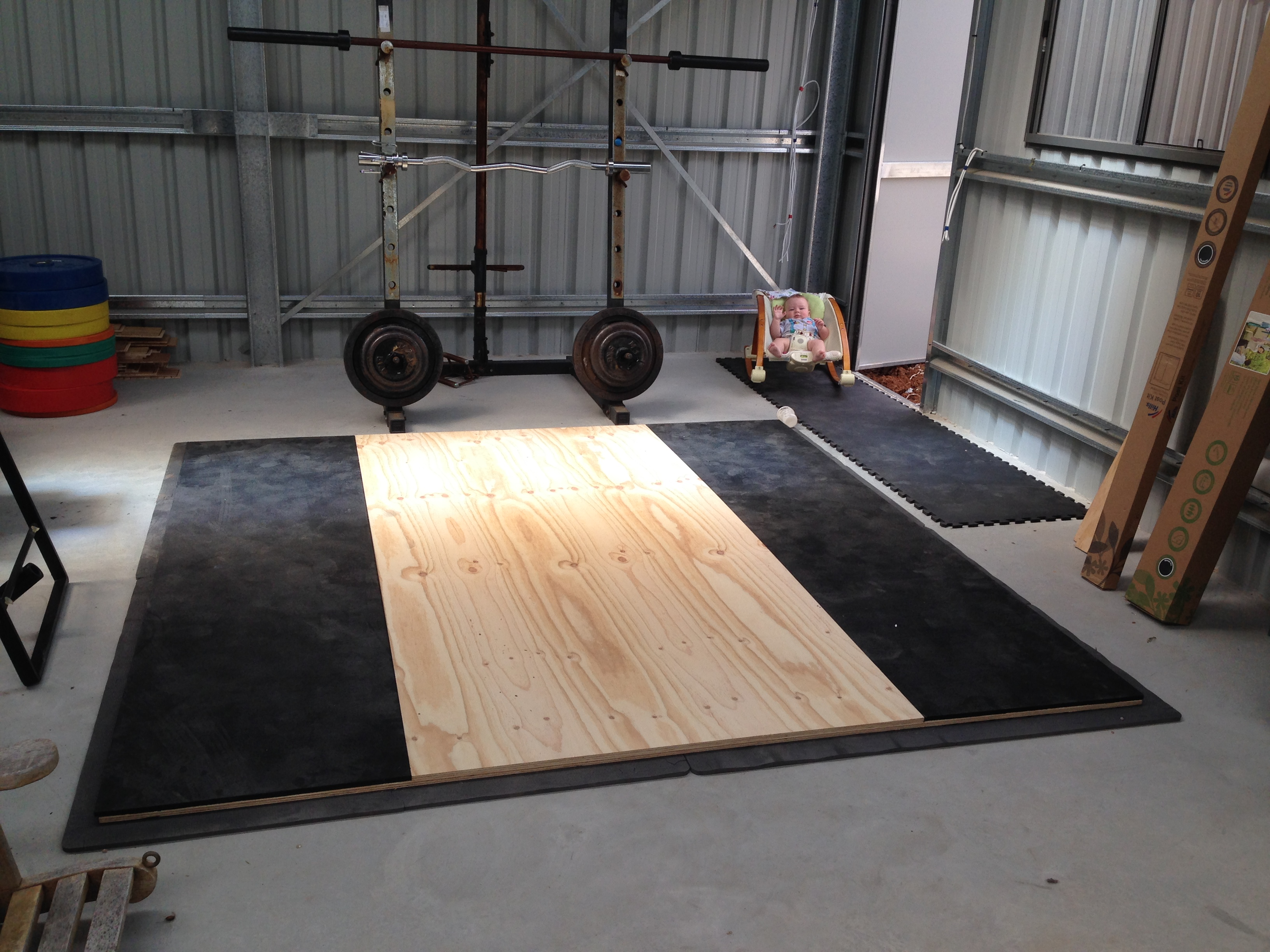 Premium Olympic Lifting Platform